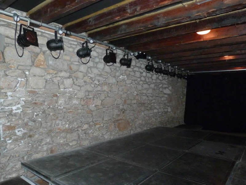 Work completed at The Warehouse Theatre, Lossiemouth, Moray.
